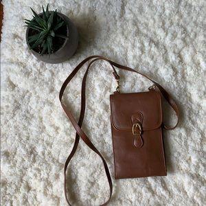 Handbags - Brown Crossbody wallet purse